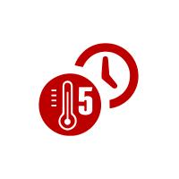 Comando elettronico 5 temperature